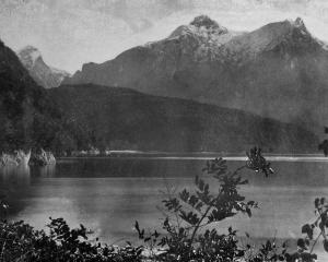 Lake Manapouri. - Otago Witness, 11.11.1919.