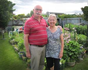 Clyde couple Jim and Geraldine Barrie reflect on leaving Clyde for a Cromwell retirement village....