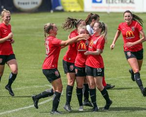 Canterbury United Pride booked themselves a spot in the National Women's League final with a 3-0...