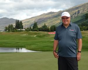 New Zealand Open director Michael Glading. PHOTO: DAVID WILLIAMS