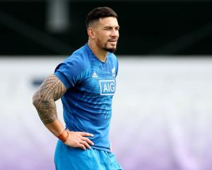 Sonny Bill Williams will trade All Black colours for a Toronto Wolfpack kit. Photo: Getty Images