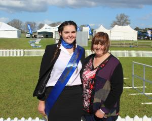 Linsey Bennett, of Tuatapere, was thrilled when her daughter Julie Skedgwell (16), was named...