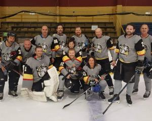 The Wellington Seals ice hockey team is all ready to compete in next year's New Zealand Master...