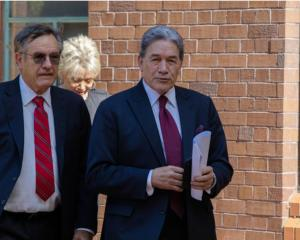 Winston Peters' lawyer Brian Henry, left, is a founding director of New Zealand Future Forest...