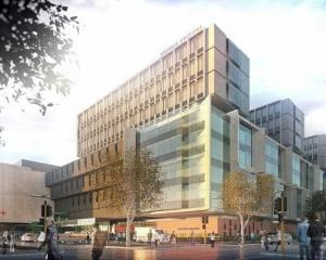 An artist's impression of the new Dunedin Hospital. Image: supplied