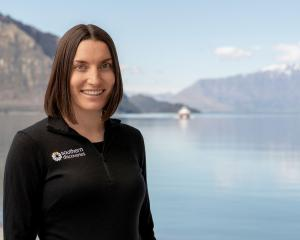 Ella Spittle, of Southern Discoveries, in Queenstown, winner of YoungTEC's 2019 Rising Star award...