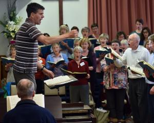 David Burchell will conduct City Choir Dunedin in Handel's Messiah. Photo: Peter McIntosh