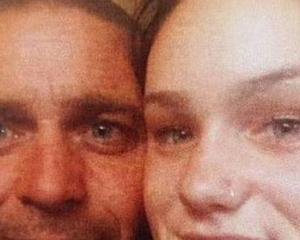 Jason Alexander and his daughter Sunmara Alexander, 15, who remains in hospital after the...