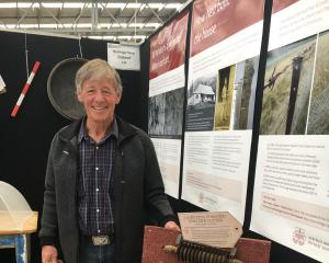 Ken Gillespie was helping out on the Heritage New Zealand site at the New Zealand Agricultural...