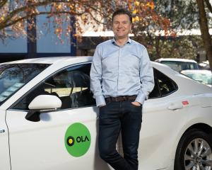 Ola New Zealand country manager Brian Dewil is expecting the rideshare app to be popular in...