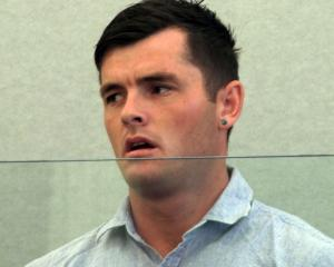 Damien Stevens (28) was sentenced to community work for his wayward driving and trying to cover...