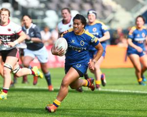 Kilisitina Moataane in action for Otago during the Farah Palmer Cup. Photo: Getty Images