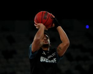 Breakers guard Corey Webster. Photo: Getty Images