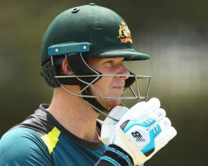 Australia's Steve Smith. Photo: Getty