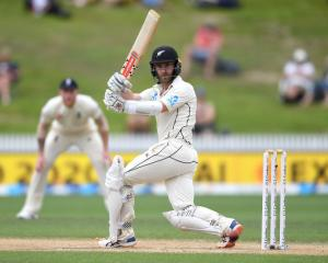 Kane Williamson in action on day five against England. Photo: Getty