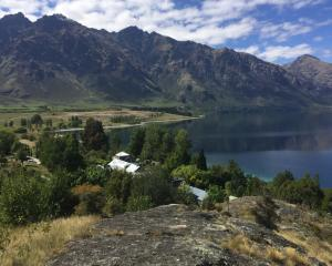 A planned retreat for academics will have a commanding view over Lake Wakatipu. Photo: University...