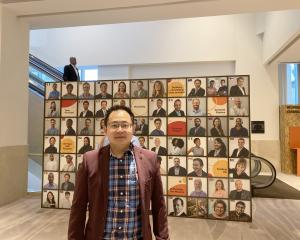 ODocs Eye Care chief executive Dr Sheng Chiong Hong in Dubai. PHOTO: SUPPLIED