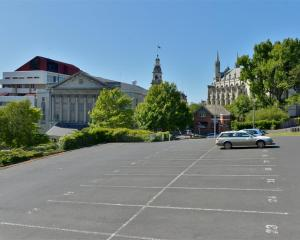 The car park has long been at the centre of discussion as a potential hotel site. Photo: ODT