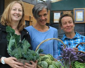 For the first time, Oamaru's Waitaki Community Gardens hosts an organic vege market yesterday....