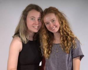 Chantal Stallard, 19, and sister Dominique, 17, right, who donated stem cells in a last-ditch...