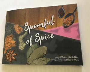 The Spoonful of Spice cookbook. Photo: Supplied