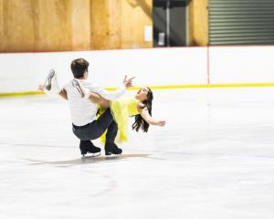Isabelle Guise and dance partner Dashane Du Plessis are national champions in ice dance. Photos:...