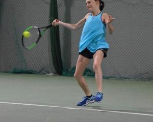 Lucia Gale won a national mixed doubles title at the national junior championships in Auckland.