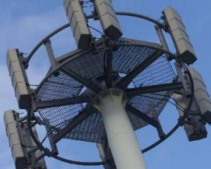 Photo: Some ??? cellphone towers were affected by yesterday's storm. Photo: NZ Herald
