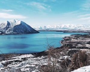 A search is under way for a missing person near Lake Ohau in Canterbury's Mackenzie Basin. Photo:...
