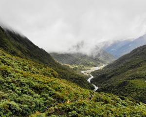 The Arahura Valley.