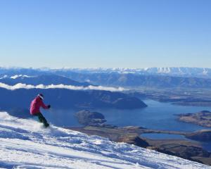 Treble Cone skifield. Photo: Geoff Marks