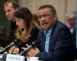 WHO chief Tedros Adhanom Ghebreyesus. Photo: Reuters