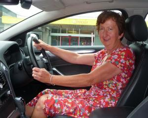 Ashburton Community Driver Mentor Programme co-ordinator Heather Daly is encouraging volunteer...