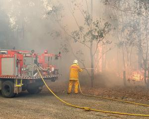 Firefighters have been working in extreme conditions in Australia.