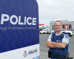 Clutha-Taieri area response manager Senior Sergeant Stan Leishman is looking forward to three new...