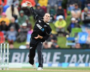 Todd Astle will feature in New Zealand A's match against India A at Hagley Oval on Sunday. Photo:...