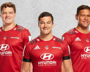 The Crusaders new logo will be at the centre of their playing strip for the Super Rugby season...