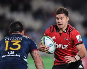 David Havili will captain the Crusaders in Wanaka and spend time at 15 and 12. Photo: Getty Images