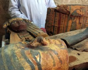 Userhat was a judge from the New Kingdom at the Dra Abu-el Naga necropolis near the Nile city of Luxor. Photo: Reuters