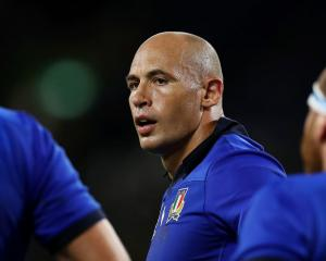 Sergio Parisse. Photo: Getty Images