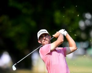 Wade Ormsby, seen here during the Australian PGA Championship tournament at Royal Pines on the...