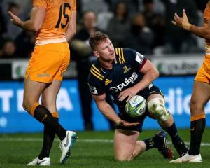 James Lentjes will lead the Highlanders in their first preseason match tomorrow. Photo: Getty Images
