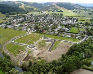All 35 sections at the Maungatua view subdivision at Outram are either sold or on hold. PHOTO:...