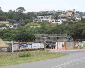 The developers of new luxury accommodation at Oamaru Harbour are silent on progress. Photo:...