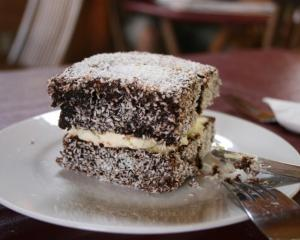 Prince of the cake shop ... the lamington. Photo by Monica Shaw