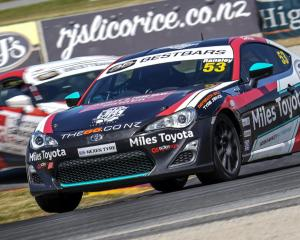 Prebbleton's Jaden Ransley maintained his lead in the Toyota 86 Championship after a competitive...