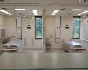 The Christchurch Hospital Acute Services Building is due to open later this year. Photo: RNZ...
