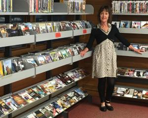Dunedin Public Libraries DVD, Blu-ray, and CD collection manager Glenda Rogers has thousands of...
