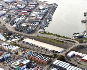 The Dunedin waterfront — a blank canvas. PHOTO: STEPHEN JAQUIERY