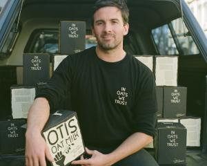 Otis Oat Milk managing director Tim Ryan. Photo: Supplied